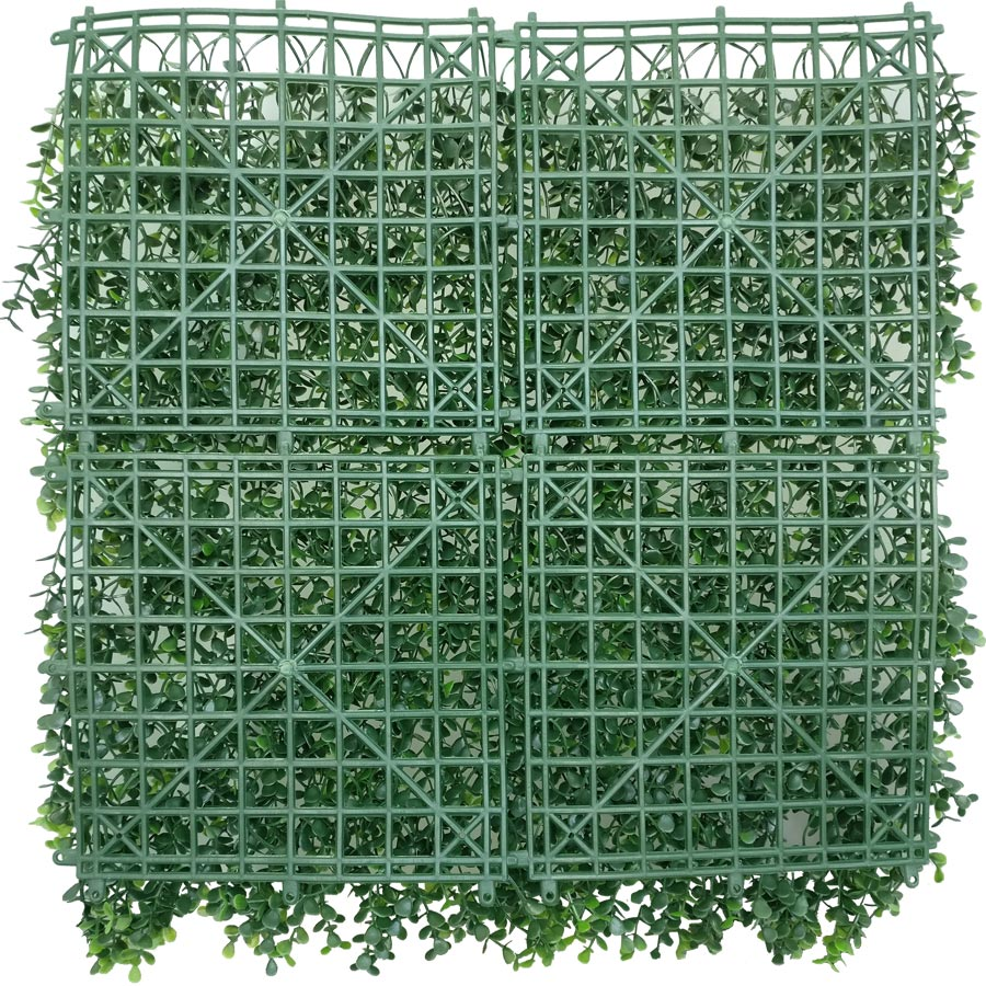 Artificial Myrtle Greenery Panels Foliage Boxwood Hedge Mat-2