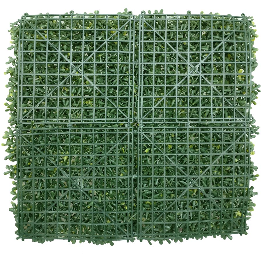 artificial boxwood yellow color panel-2