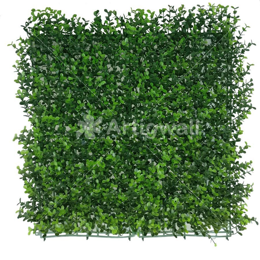 Artificial Myrtle Greenery Panels Foliage Boxwood Hedge Mat