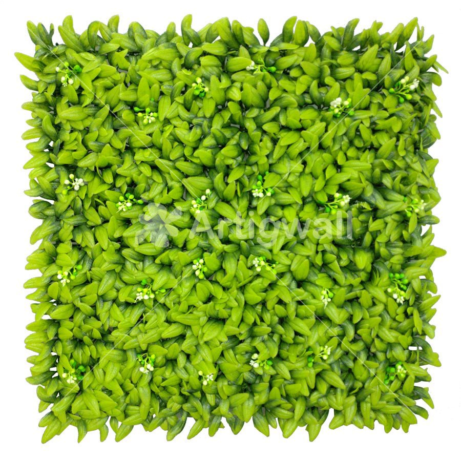 Artificial Floral Hedge Panel