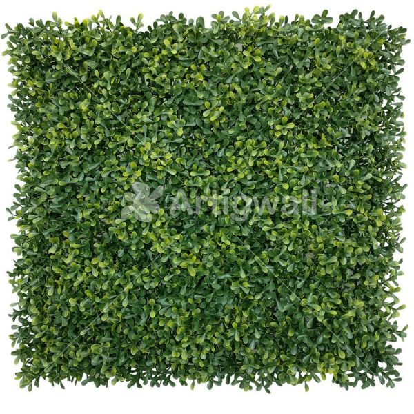 artificial boxwood yellow color panel
