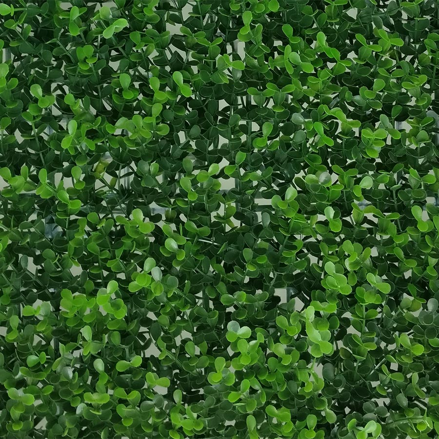 Artificial Myrtle Greenery Panels Foliage Boxwood Hedge